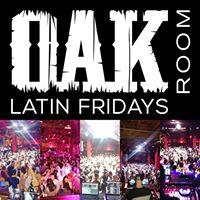 Latin Fridays at Oak Room