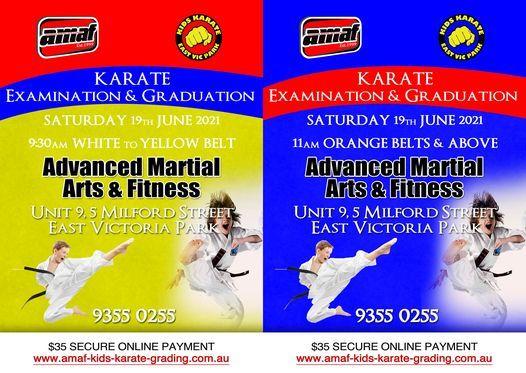Karate Grade Examination & Graduation 19\/06\/2021