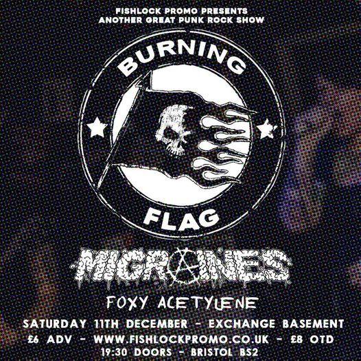 Burning Flag   Exchange Basement
