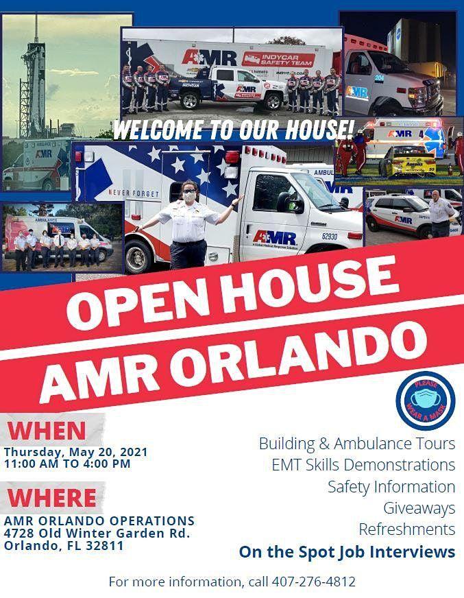 American Medical Response (AMR) Orlando Open House