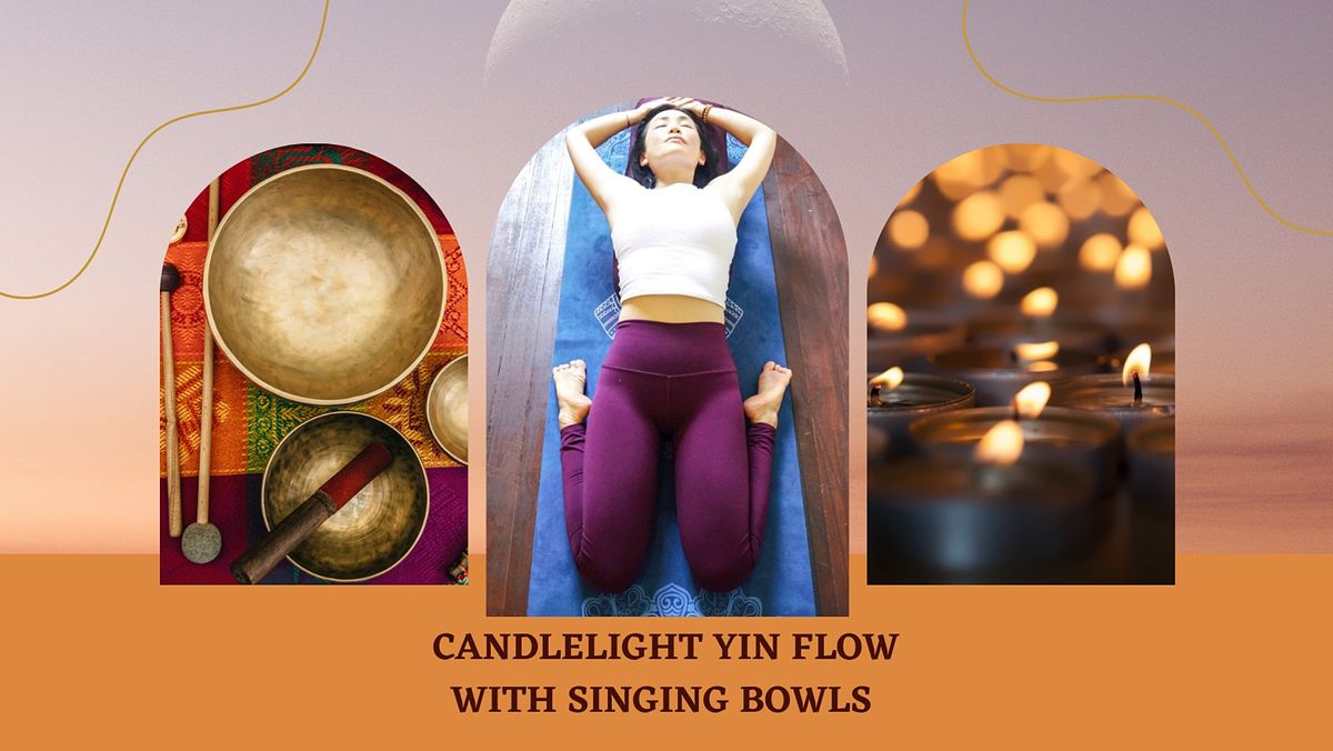 Candlelight YIN FLOW with Singing Bowls