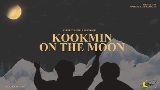 "Kookmin on the moon"" event for Jungkook & Jimin"