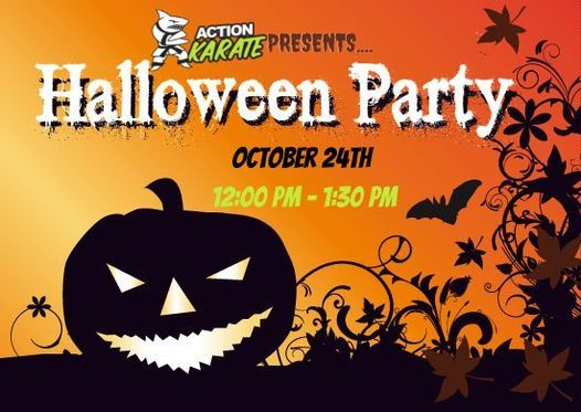 Action Karate Halloween Party for Kids: Free Community Event