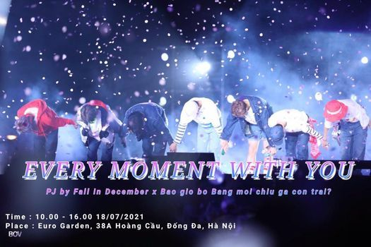 |HN| Every moment with you - 1st Free gift for BTS