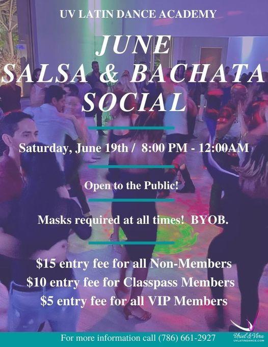 The June UV Salsa & Bachata Social