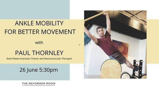 Ankle Mobility Workshop