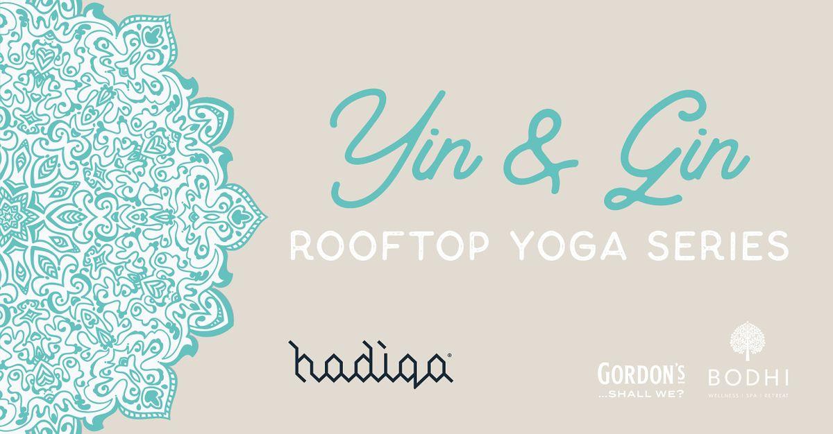 Yin & Gin Rooftop Yoga Series   September