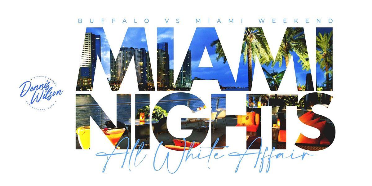 Miami Nights All White Affair: Miami
