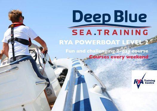 Rya Powerboat Level 2 Course Deep Blue Sea Training Palma De Mallorca 13 February To 14 February