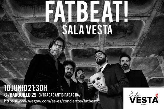 Fatbeat! En la sala Vesta
