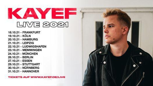 Kayef - Tour 2021 l Backstage M\u00fcnchen