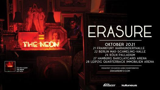Erasure \/\/ Hamburg \/\/ \u203aThe Neon\u2039 Tour 2021
