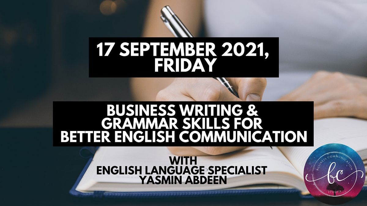 1-Day Business Writing & Grammar Skills for Better English Communication