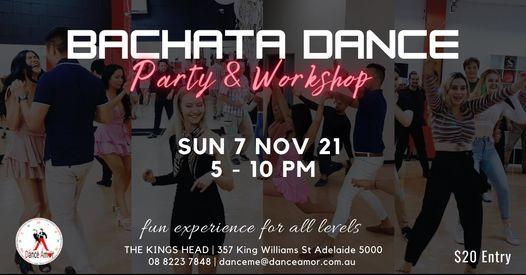 Bachata Social Dance Party & Workshop  - Amor Open Day Sun 7 Nov 5 PM