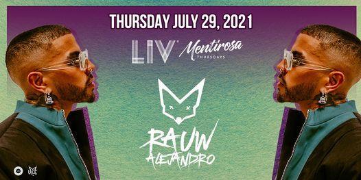 Rauw Alejandro - Thurs. July 29th