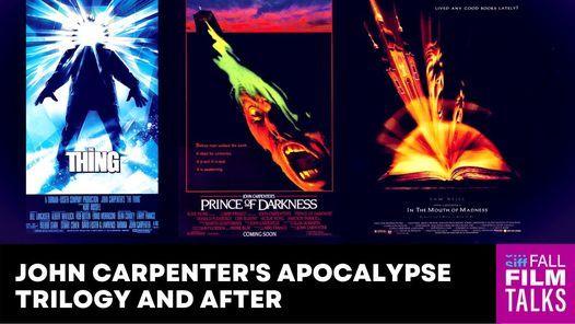 John Carpenter's Apocalypse Trilogy and After - Hybrid Class