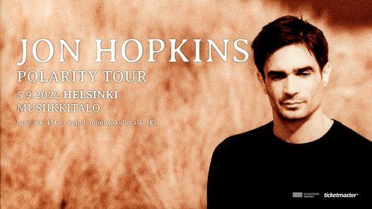 Jon Hopkins - Polarity Live 2021, su 14.11. Musiikkitalo, Helsinki