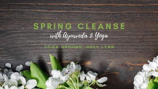 Spring Cleanse with Ayurveda & Yoga