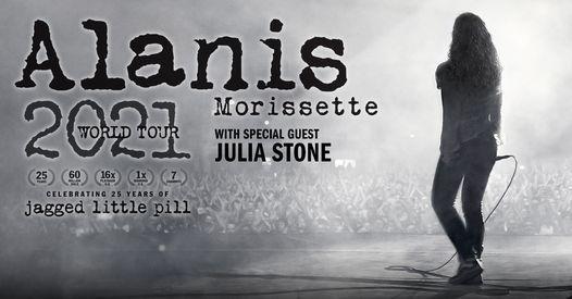 Alanis Morissette 'World Tour 2021'   Perth
