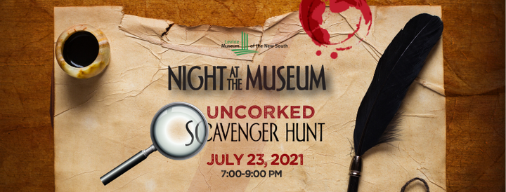 Night at the Museum - Uncorked Scavenger Hunt