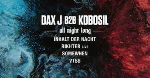 Reaktor: Dax J B2B Kobosil [All Night Long]