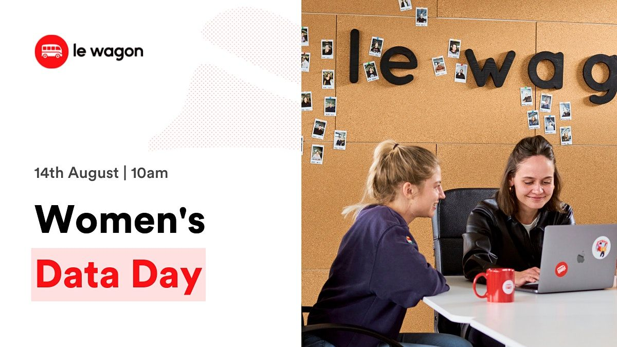 Join our  Women's Data Day: Web Scraping with Python