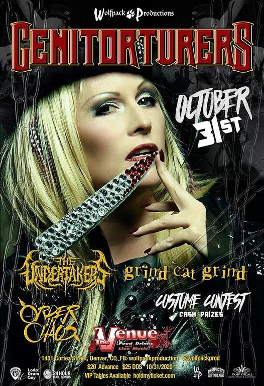 Halloween Bash with the Genitorturers