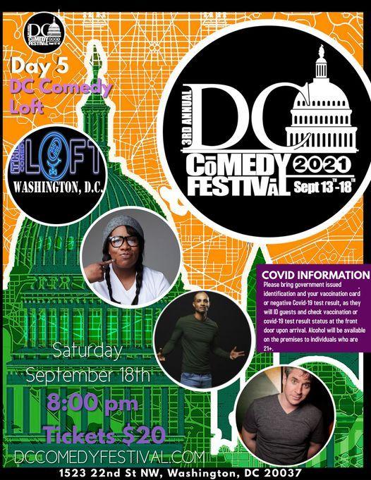 DC COMEDY FESTIVAL: DC Comedy Loft