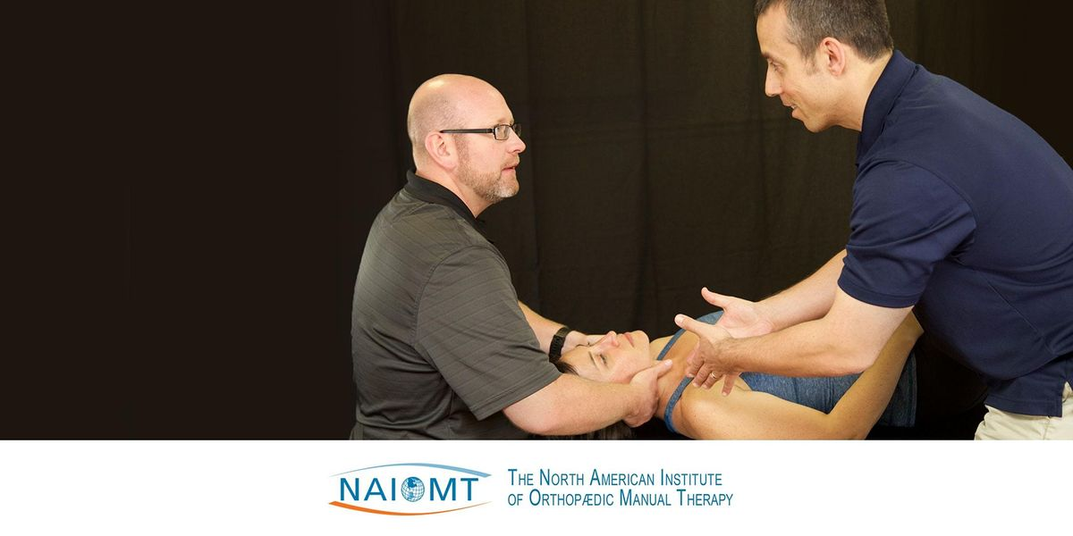 NAIOMT C-616 Cervical Spine II [Touro College-NYC]2021