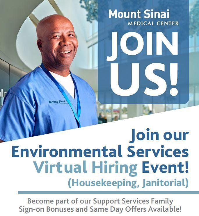 Mount Sinai Systemwide Hiring Event