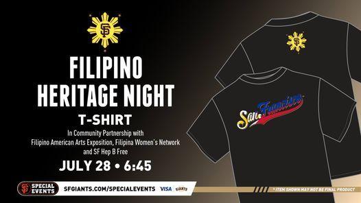 SF Giants Filipino Heriitage Night