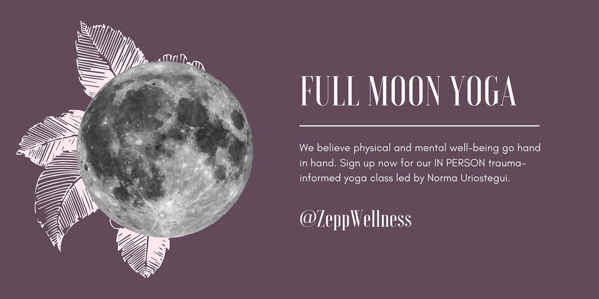 Trauma-Informed Full Moon Yoga