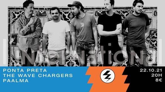 Ponta Preta + The Wave Chargers + Paalma