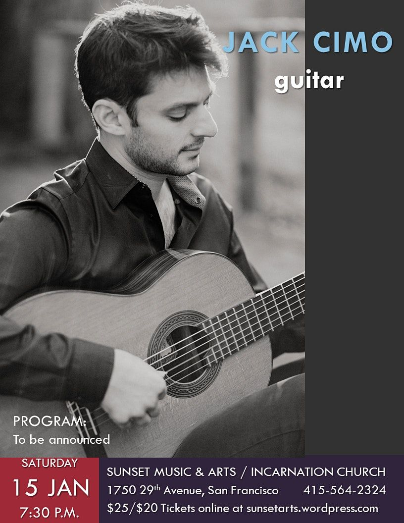 Jack Cimo, guitar