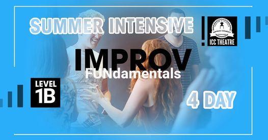 Improv FUNdamentals Summer Course \u2013 Level 1B