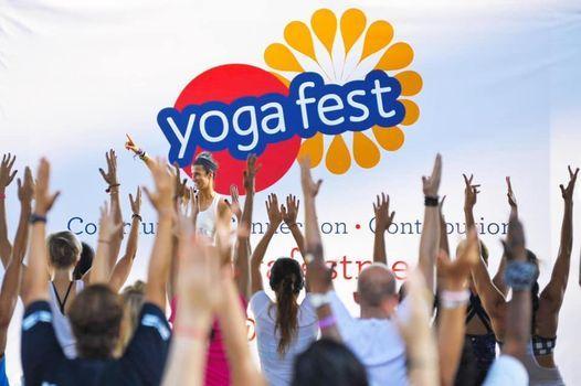 Yogafest Dubai 2022 at Dubai Internet City Amphitheatre