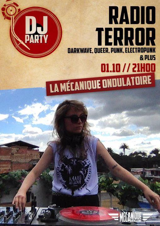 Radio Terror DJ Set - La M\u00e9ca
