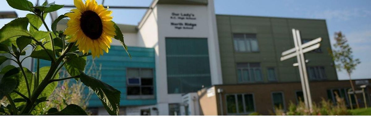 Our Lady's RC High School Open Week - Thursday 30th September 11.20am