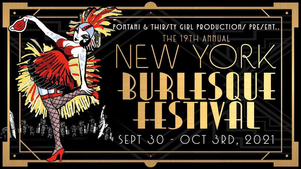 The New York Burlesque Festival's Golden Pastie Awards