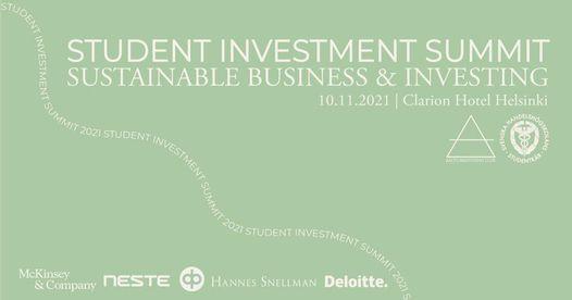 Student Investment Summit 2021
