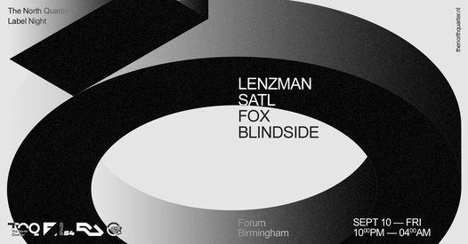 &friends - TNQ Presents. Lenzman, Fox, Satl & Blindside