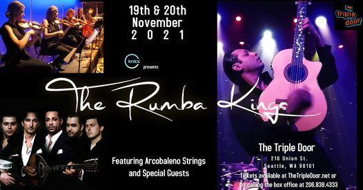 The Rumba Kings featuring Arcobaleno Strings & Special Guests