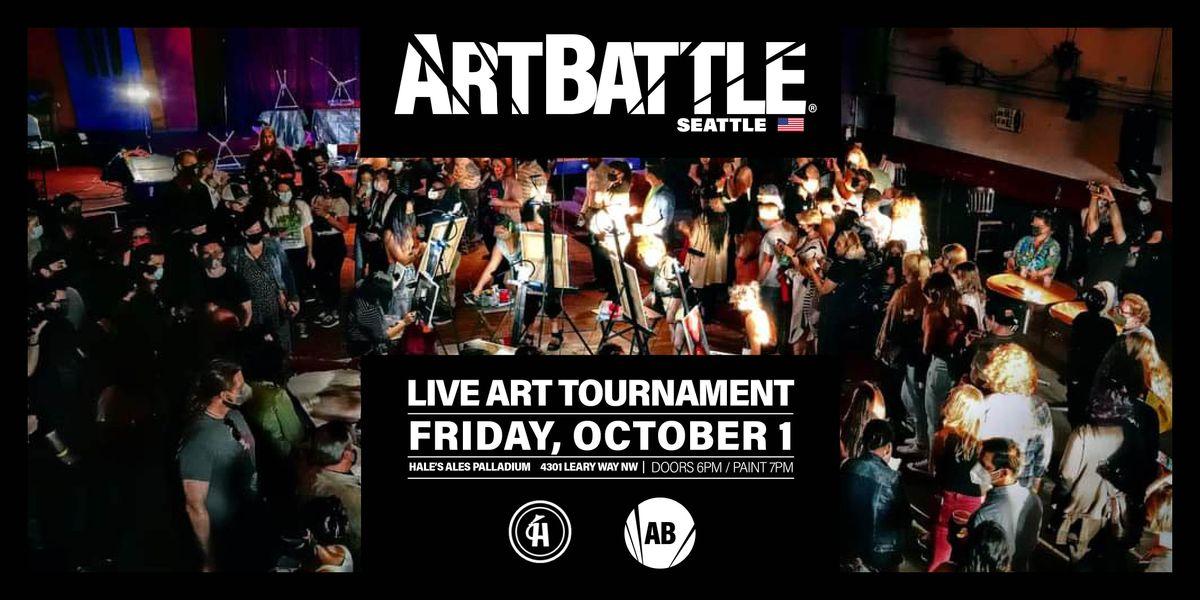 Art Battle Seattle  - October 1, 2021