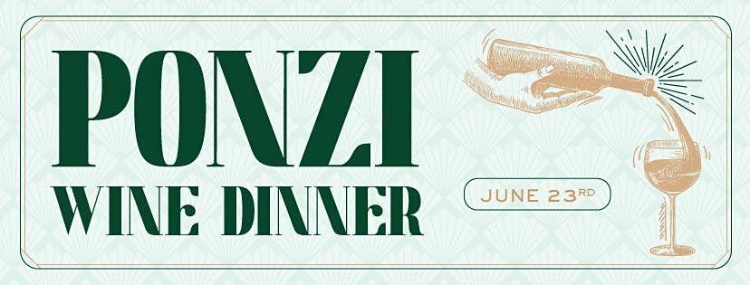 Ponzi Wine Dinner at Heaton's Vero Beach!