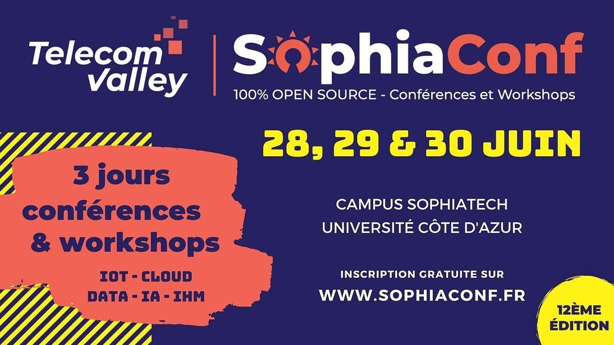 SophiaConf 2021 - Conf\u00e9rences (28-29-30 juin)
