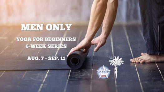 MEN ONLY - Yoga For Beginners 6-Week Series (Group 3)