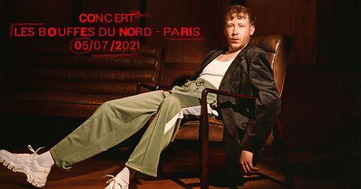 Eddy De Pretto en concert aux Bouffes du Nord