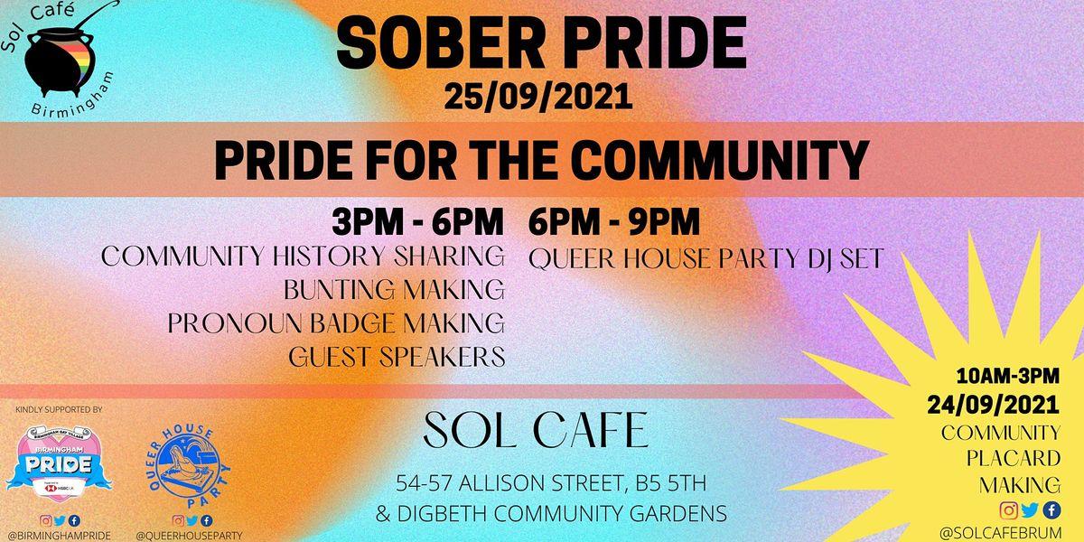 Sober Pride Birmingham