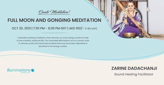 Onsite Meditation: Full Moon And Gonging Meditation With Zarine