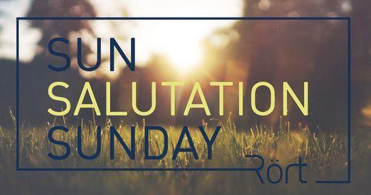Sun Salutation Sunday in R\u00f6rt